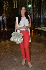 Bhagyashree at Mahesh Notandas store for festive collection launch on 23rd Oct 2015