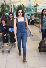 Prachi Desai snapped at airport on 24th Oct 2015