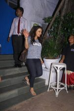 Preity Zinta snapped with cricketer David Miller at Olive, Bandra on 23rd Oct 2015
