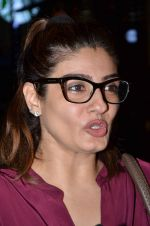 Raveena Tandon snapped at PVR on 25th Oct 2015