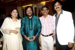 ritu johri,roop kumar rathod,ravi bhatnagar & jeetu shankar released ghazal album Perception in Alamode Banquets,Juhu on 25th Oct 2015_562e19aa5e6c3.jpg