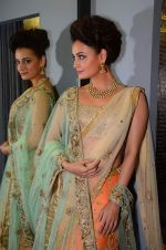 Dia Mirza walks for Amy Billimoria charity show in Juhu, Mumbai on 26th Oct 2015