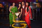 Mouni Roy, Arjun Bijlani, Adaa Khan, Sudha Chandran at Naagin launch for Colors in Powai on 26th Oct 2015 (35)_562f7ab8ef408.JPG