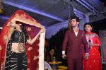 Mouni Roy, Arjun Bijlani, Adaa Khan at Naagin launch for Colors in Powai on 26th Oct 2015