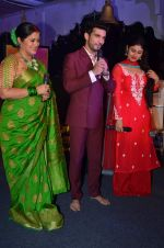 Mouni Roy, Arjun Bijlani, Sudha Chandran at Naagin launch for Colors in Powai on 26th Oct 2015