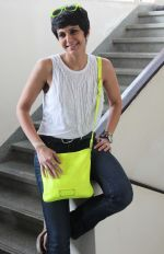 Mandira Bedi at the launch of _Femina To Your Rescue_ app at Police Gymkhana, Mumbai.1