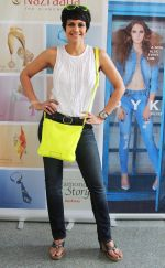 Mandira Bedi at the launch of _Femina To Your Rescue_ app at Police Gymkhana, Mumbai.2