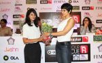 Mandira Bedi at the launch of _Femina To Your Rescue_ app at Police Gymkhana, Mumbai.7