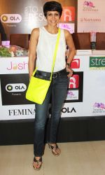 Mandira Bedi at the launch of _Femina To Your Rescue_ app at Police Gymkhana, Mumbai