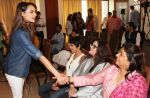 Miss India Gail D�silva & Dr Madhu Chopra (Priyanka Chopra_s Mother) at the launch of the _Femina To Your Rescue_ app at Police Gymkhana, Mumbai_56309460c0d68.jpg