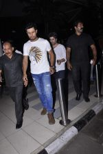 Randeep Hooda at the Airport after promoting Main Aur Charles on 27th Oct 2015