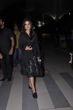 Richa Chadda at the Airport after promoting Main Aur Charles on 27th Oct 2015