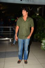 Chunky Pandey snapped at airport on 28th Oct 2015