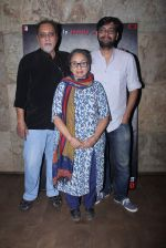 Kanu Behl, Lalit Behl at Titli Screening on 28th Oct 2015