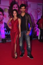 Nushrat Bharucha, Kartik Aaryan at Pyaar Ka Punchnama 2 success bash in Mumbai on 28th Oct 2015