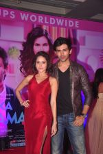 Nushrat Bharucha, Kartik Aaryan at Pyaar Ka Punchnama 2 success bash in Mumbai on 28th Oct 2015 (31)_5631d2d2dc3b0.JPG