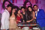 Nushrat Bharucha, Kartik Aaryan,Sonnalli Seygall  at Pyaar Ka Punchnama 2 success bash in Mumbai on 28th Oct 2015