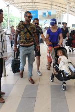 Shikhar Dhawan snapped at airport on 28th Oct 2015