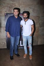 Siddharth Roy Kapur, Raj Kumar Yadav at Titli Screening on 28th Oct 2015