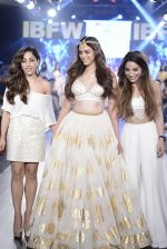 Aditi Rao Hydari walk the ramp for Sukriti and Akruti show on day 3 of Gionee India Beach Fashion Week on 31st Oct 2015