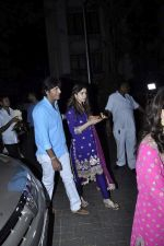 Chunky Pandey at Karva chauth celebrations at Anil Kapoors residence on 30th Oct 2015