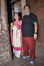 David Dhawan at Karva chauth celebrations at Anil Kapoors residence on 30th Oct 2015