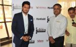Mr. Riteish Deshmukh alongwith one of the sponcer at the Launch Press Conference of _Ajeenkya DY Patil University Filmfare Awards 2014_