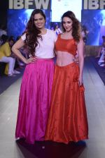 Nauheed Cyrusi walk the ramp for Urvee Adhikari show on day 3 of Gionee India Beach Fashion Week on 31st Oct 2015