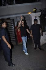 Sanjay Kapoor at Karva chauth celebrations at Anil Kapoors residence on 30th Oct 2015