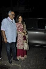 Sridevi, Boney Kapoor at Karva chauth celebrations at Anil Kapoors residence on 30th Oct 2015 (59)_5634f3b71a6b7.JPG