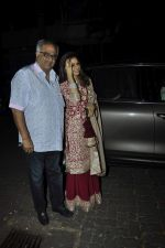 Sridevi, Boney Kapoor at Karva chauth celebrations at Anil Kapoors residence on 30th Oct 2015 (66)_5634f3b982e87.JPG