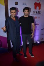 Arjun Kapoor, Aditya Roy Kapur on day 3 of MAMI Film Festival on 31st Oct 2015