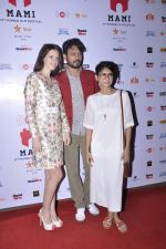 Irrfan Khan, Kalki Koechlin, Kiran Rao on day 3 of MAMI Film Festival on 31st Oct 2015