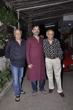 Mahesh Bhatt, Mukesh Bhatt at Movie screening at Sunny Super Sound on 31st Oct 2015