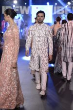 Model walk the ramp for Mayyur Girrotra Show on day 2 of Gionee India Beach Fashion Week on 30th Oct 2015