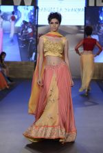 Model walk the ramp for Sangeeta Sharma Show on day 2 of Gionee India Beach Fashion Week on 30th Oct 2015