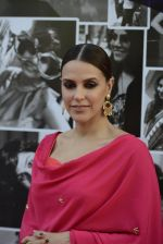 Neha Dhupia walk the ramp for Sangeeta Sharma Show on day 2 of Gionee India Beach Fashion Week on 30th Oct 2015