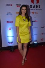 Parineeti Chopra on day 3 of MAMI Film Festival on 31st Oct 2015