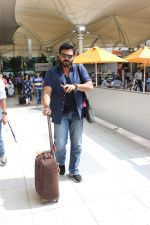 Venkatesh snapped at the airport on 31st Oct 2015