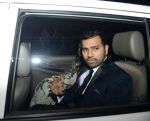 Rohit Sharma at Geeta Basra and Harbhajan Singh