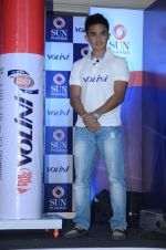 Saina Mirza and Sunil Chetri at Volini press meet on 3rd Nov 2015 (59)_5639c41231fbe.JPG