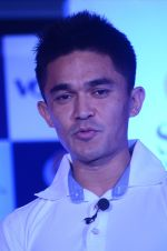 Saina Mirza and Sunil Chetri at Volini press meet on 3rd Nov 2015 (64)_5639c41391825.JPG