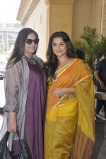 Vidya Balan, Shabana Azmi at 17th Mumbai Film Festival brunch on 3rd Nov 2015