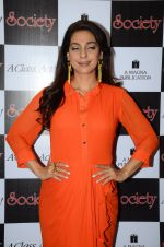 Juhi Chawla at society mag cover launch on 5th Nov 2015 (7)_563c98a302e02.JPG