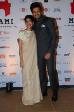 Riteish Deshmukh, Kiran Rao at MAMI Closing ceremony on 5th Nov 2015
