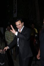 Saif Ali Khan snapped at Prithvi on 5th Nov 2015 (4)_563c99f32b2ba.JPG