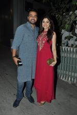 Shamita Shetty, Raj Kundra at Exceed entertainment diwali bash on 6th Nov 2015