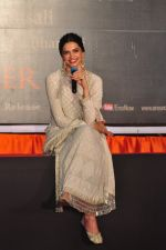Deepika Padukone at Bajirao Mastani promotions on 8th Nov 2015