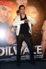 Varun Dhawan at Dilwale Trailor launch on 9th Nov 2015