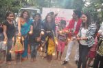 celebrates Diwali with kids on 9th Nov 2015
